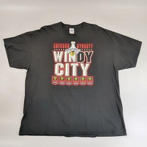 Chicago Blackhawks 2015 Championship Dynasty Shirt